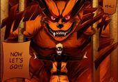 Kyubi & Naruto