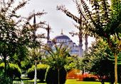 Mosquée bleue a Istamboul