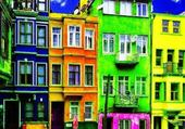 Old Colorful Houses