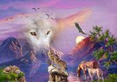 loups magnifiques