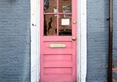Doors - Pink and grey