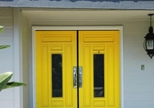 Doors - Yellow double door