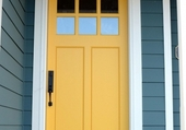 Puzzle Doors - Yellow and blue