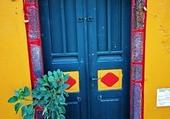 Doors - Santorini - Greece