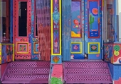 Puzzle Doors - Colorful doors and steps