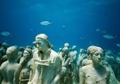 Statues sous marine