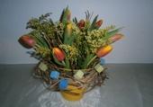 Puzzle A base de tulipes
