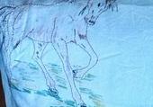 coussins chevaux