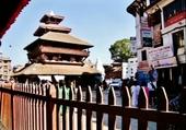 Puzzle pagode a trois étages