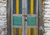 Doors - Jaune & bleu