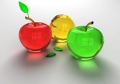 Pommes de verre