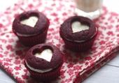 Petits cupcakes en amoureux