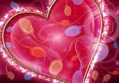 Coeur scintillant