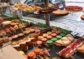 Pâtisserie en vitrine