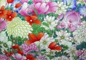 Fleurs dessinés
