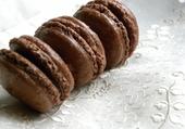 Macarons tout chocolat