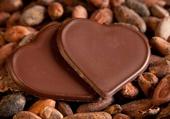 2 coeurs de chocolat