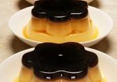 Pudding caramélisé en fleur