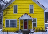Façades - Yellow house