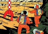 Tintin sur la Lune