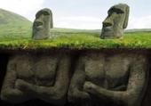 statue  de l ile de paque