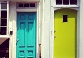 Doors - Bleu & vert