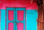 Doors - Pink & bleu