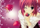 La fille des fraises