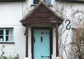 Doors - Blue door and windows