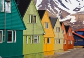 Façades - Longyearbyen - Norway