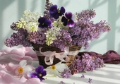 joli bouquet de lilas
