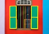 Windows - Colorful House