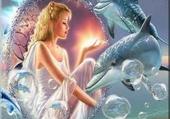 la fille au dauphin