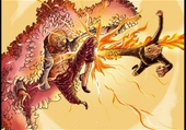 Sanji vs Don Flamingo