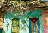 Façades - Colorful Cuban house