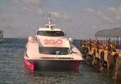 Bateau reliant Cebu à Ormoc