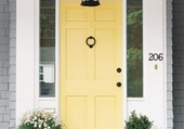 Doors - Yellow-front-door