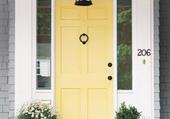 Doors - Yellow-front-door