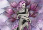 Puzzle Fée violette