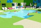 Puzzle piscine