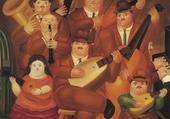 los musicos, Botero