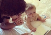 harry and baby