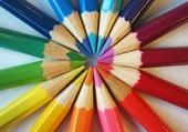 Palette de crayons