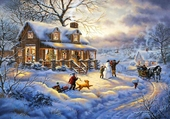 Puzzle Bientot Noël