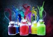 colors bottles