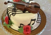 gateau musical