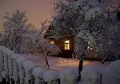 Beau manteau de neige