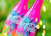 bouteilles hautes en couleurs