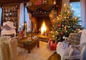 Puzzle Noël au coin du feu