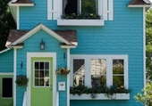 Façades - Turquoise House
